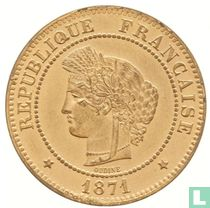 France 5 centimes 1871 (A)