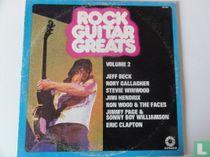 Rock Guitar Greats Volume 2