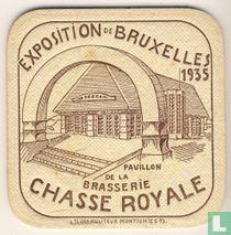 Exposition de Bruxelles 1935 Pavillon de la Brasserie Chasse Royale