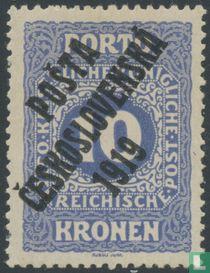 Austrian postage