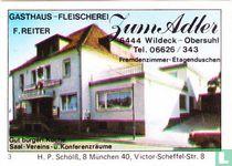 Zum Adler - F. Reiter