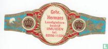 Gebr. Hermans Loodgietersbedrijf IJmuiden tel. 02550-11324