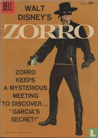 """Zorro Keeps A Mysterious Meeting to Discover """"Garcia's Secret!"""""""