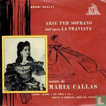 Arie Per Soprano Dall'Opera La Traviata