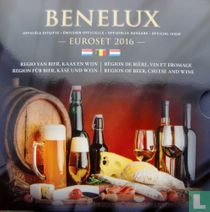 """Benelux mint set 2016 """"Region of beer - cheese and wine"""""""