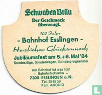 100 Jahre Bahnhof Esslingen - Bahnhofschenke(Der Geschmack überzeugt)