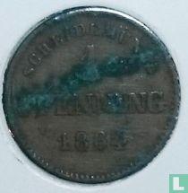 Beieren 1 pfennig 1864