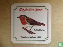 28 Gefährdete Natur/Vogel des Jahres 1992