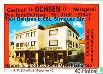 "Gasthof ""Ochsen"" - Fam. Seifried"