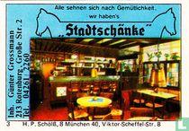 """Stadtschänke"" - Günter Grossmann"