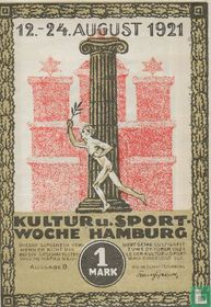 Hamburg, Kultur- und Sportwoche 1 Mark 1921