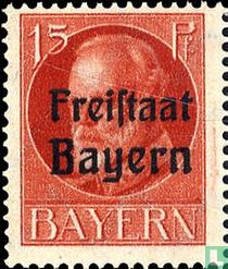 "König Ludwig III. Bayern mit ""Freistaat Bayern"""