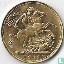Australië 1 sovereign 1902 (P)