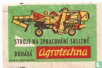 Stroje na zpracovani sklizne