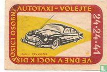 Ve dne v noci k disposici osobni autotaxi volejte 24-24-41