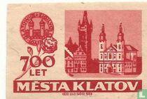 700 Let mesta Klatov.