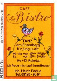 Cafe Le Bistro - Heinz Padua