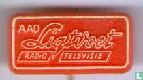 Aad Ligtvoet radio en televisie [rood]