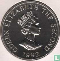 "Alderney 2 pounds 1992 ""40th anniversary Accession of Queen Elizabeth II"""