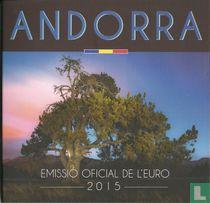 """Andorra mint set 2015 """"Govern d'Andorra"""""""