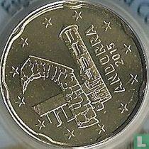 Andorra 20 cent 2015