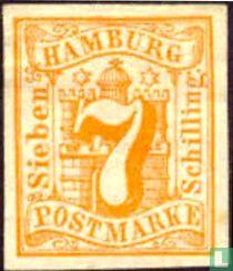 Wappen mit Ziffer