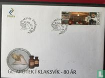 Oude apotheek in Klaksvik