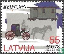 Europa – Postal vehicles