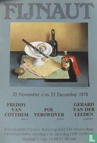 Fijnaut - Freddy van Cotthem - Pol Verswijver - Gerard van der Leeden