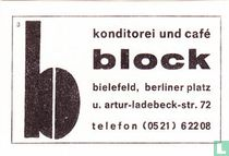 Konditotei und café block