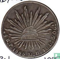 Mexico 8 reales 1885 (Pi MH)