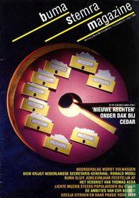 Buma Stemra Magazine 1