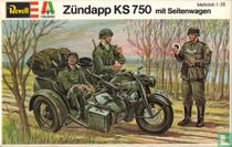 Zündapp KS 750 mit Seitenwagen