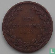 Baden 1 kreuzer 1828 (D)