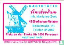 Gaststätte Amsterdam - Marianne Zoet