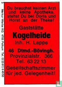 Gaststätte Kogelheide - H. Lappe