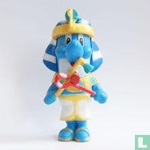 Dolfi als farao
