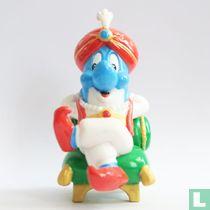 Dolfi als sultan