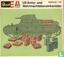 US Army- und Wehrmachtsbenzinkanister