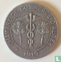 Algeria 10 centimes 1919