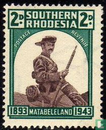 50 jarige bezetting Matabeleland
