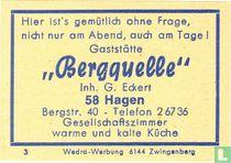 """""""Bergquelle"""" - G. Eckert"""
