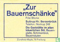 """""""Zur Bauernschänke"""" - Fritz Blome"""
