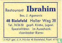 Restaurant Ibrahim - J. Aganovic