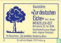 """Gaststätte """"Zur deutschen Eiche"""" - I. Arntz"""