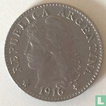 Argentinië 5 centavos 1916