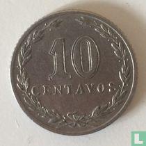 Argentinië 10 centavos 1915