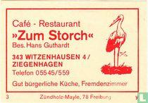 """""""Zum Storch"""" - Hans Guthardt"""