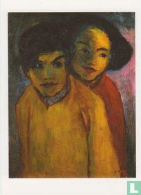 """""""Zwei """"Menschen"""" (1945)"""