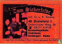 Zum Siekerfelde - G.u.H. Sosna
